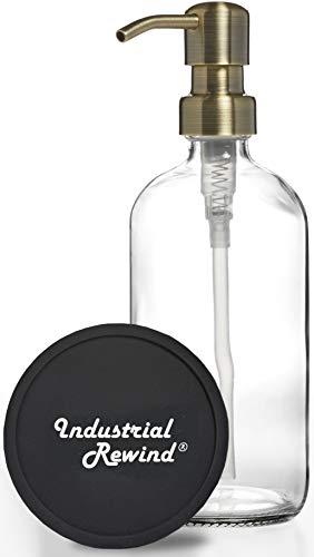 Clear Soap Dispenser/ 8oz Glass...