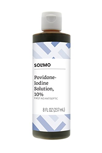 Amazon Brand - Solimo 10% Povidone...