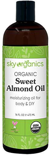 Organic Sweet Almond Oil (16 oz) by...