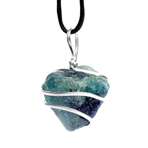Emerald Raw Gemstone Pendant...