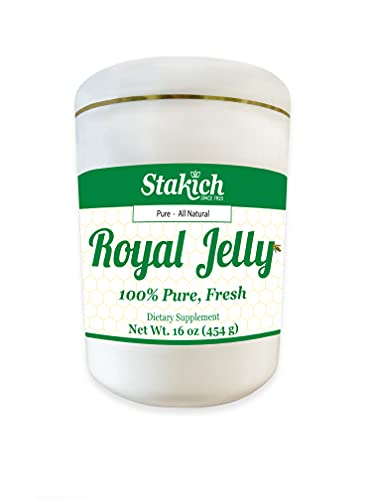 Stakich Fresh Royal Jelly - Pure,...
