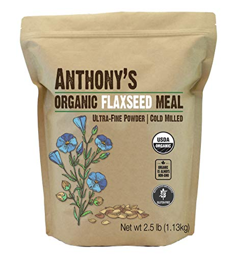 Anthony's Organic Flaxseed Meal,...
