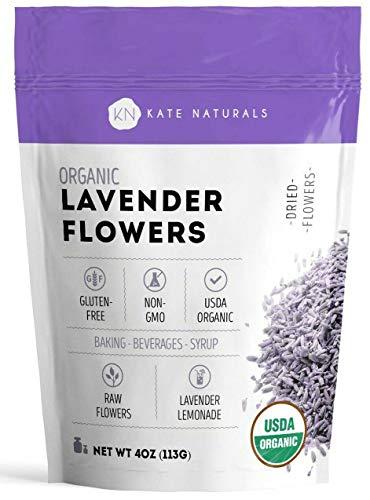 Organic Lavender Flowers - Kate...
