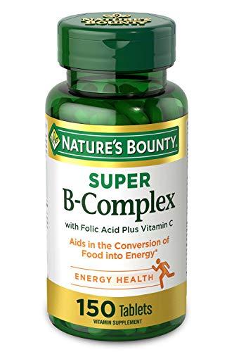 Nature's Bounty Super B-complex...