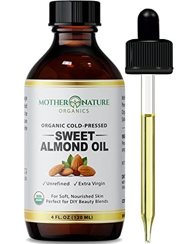 Organic Sweet Almond Oil - Extra...