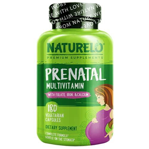 NATURELO Prenatal Multivitamin with...