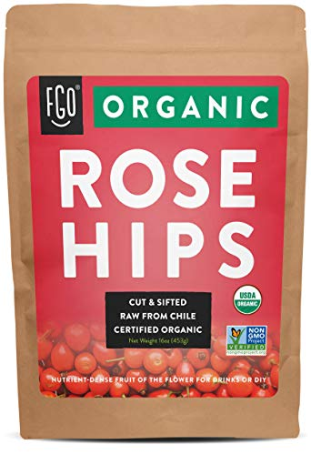 Organic Rosehips | Cut & Sifted |...
