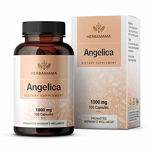 HERBAMAMA Angelica Capsules -...
