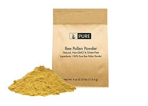 Natural Bee Pollen Powder, 4 oz, ½...