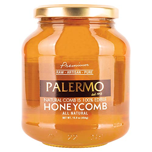 Palermo Premium Honey With Comb,...