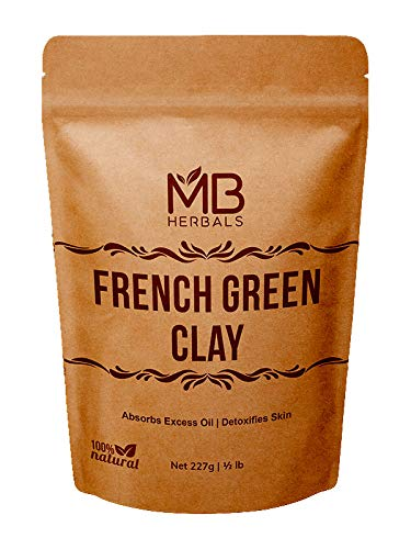 MB Herbals French Green Clay 227g |...