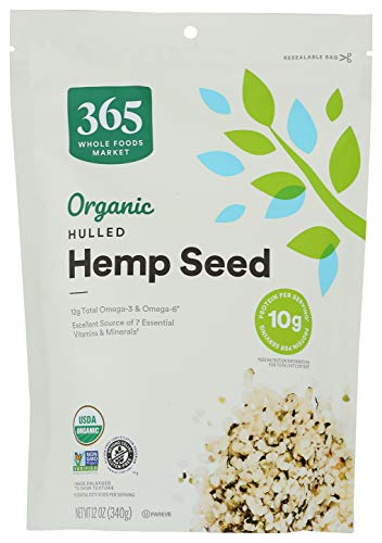 365 by WFM, Hemp Seed Organic, 12...