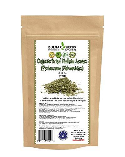 Mullein leaf Organic Dried...