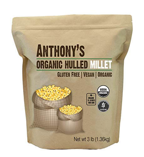 Anthony's Organic Hulled Millet, 3...