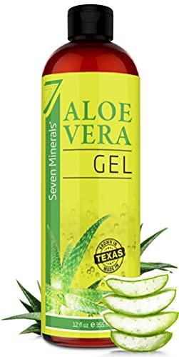 Organic Aloe Vera Gel with 100%...
