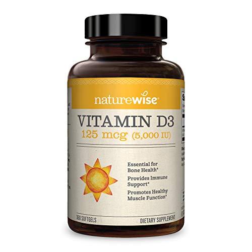 NatureWise Vitamin D3 5000iu (125...