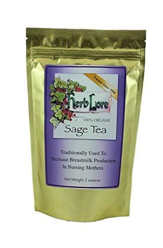 Herb Lore Sage Tea - 60 Cups -...