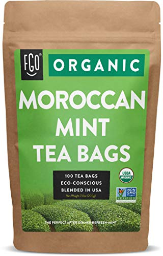 Organic Moroccan Mint Green Tea...