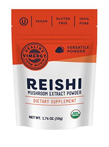 Vimergy USDA Organic Reishi Extract...