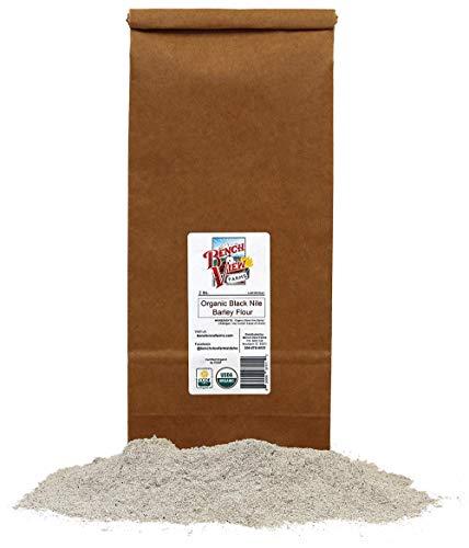 Organic Black Nile Barley Flour -...