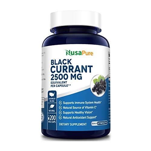 Black Currant Oil 2500 Mg 200...