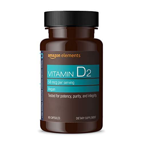 Amazon Elements Vitamin D2 2000 IU,...