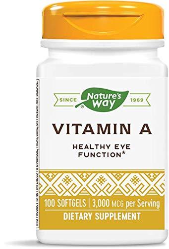 Nature's Way Vitamin A, 3,000 mcg...