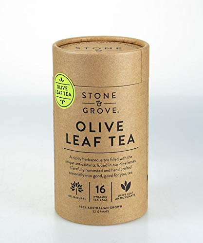Stone & Grove Olive Leaf Tea,...