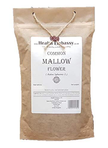 Common Mallow Flower (Malva...