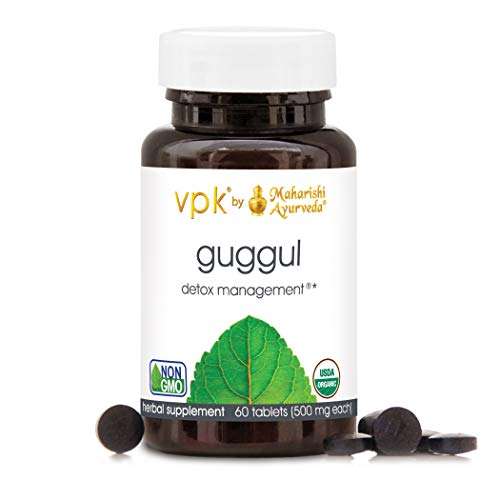 Organic Guggul - 60 Herbal Tablets...