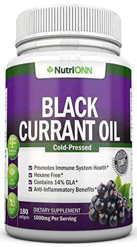 Black Currant Oil - 1000 Mg - 180...
