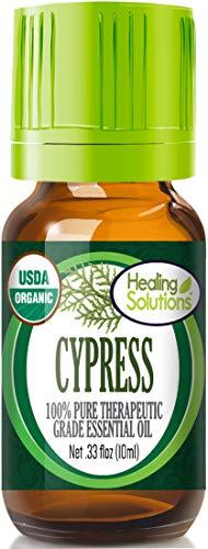 Organic Cypress Essential Oil (100%...