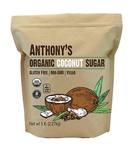 Anthony's Organic Coconut Sugar,...