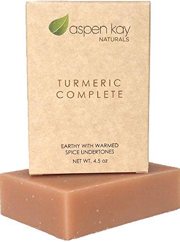 Organic Turmeric Soap - Natural and...