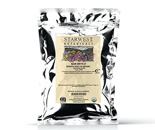 Starwest Botanicals Organic Burdock...