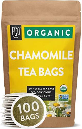 Organic Chamomile Tea Bags | 100...