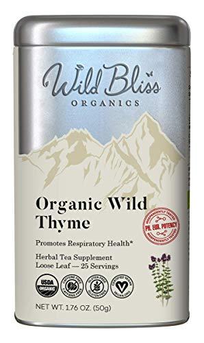 Wild Thyme Herbal Tea - Organic...