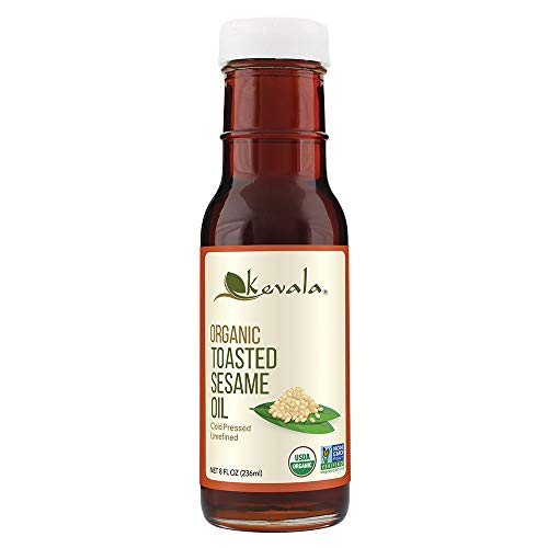 Kevala Organic Toasted Sesame Oil,...