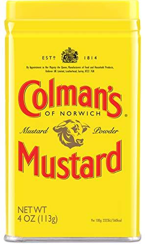 Colman's, Dry Mustard Powder, 4 oz