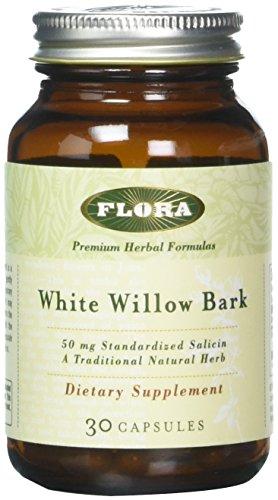 Flora White Willow Bark Capsules 30...
