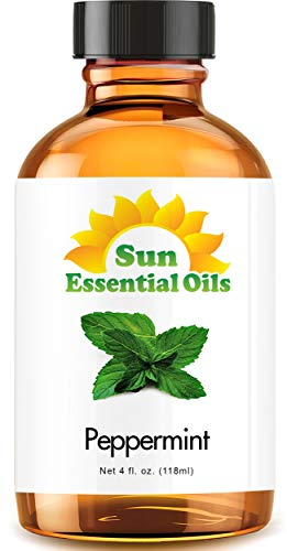 Peppermint Essential Oil (Huge 4oz...