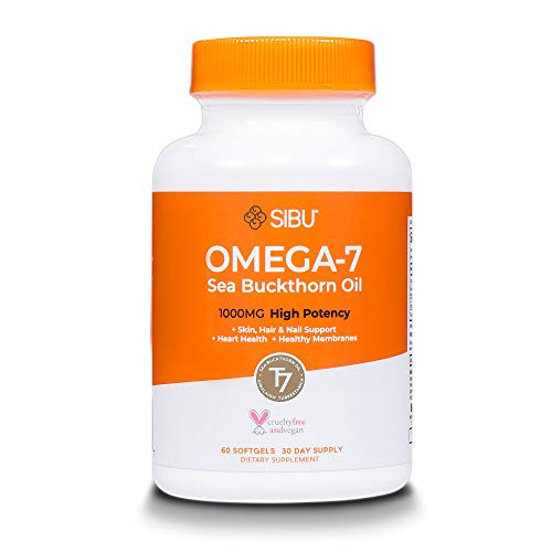 SIBU Omega 7 Sea Buckthorn Oil Soft...