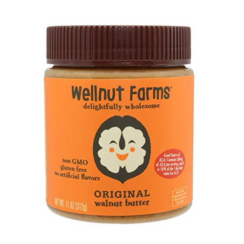 Wellnut Farms Creamy Walnut Butter,...