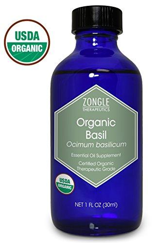Zongle USDA Certified Organic Basil...