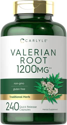 Valerian Root Capsules 1200mg   240...