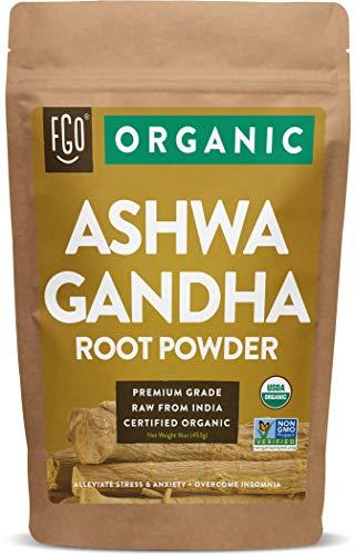 Organic Ashwagandha Root Powder |...