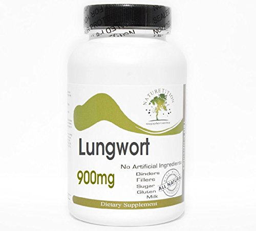 Lungwort 900mg ~ 180 Capsules - No...