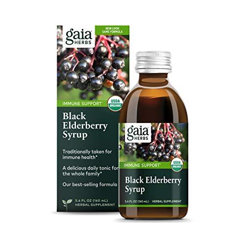 Gaia Herbs Black Elderberry Syrup -...