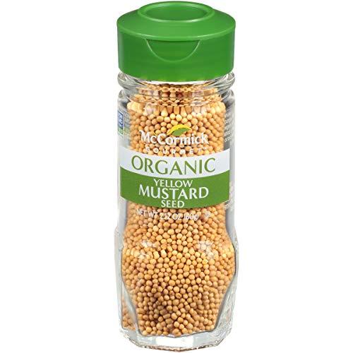 Organic Yellow Mustard Seed
