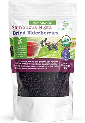 USDA Organic Dried Elderberries -...